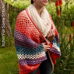 Boho Goddess Kimono Cardigan Free Crochet Pattern