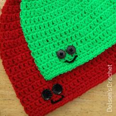 Happy Hats Free Crochet Pattern