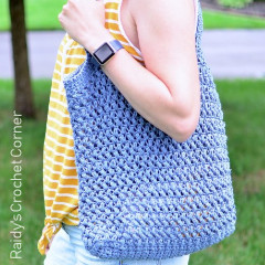 Hey Summer Tote Bag Free Crochet Pattern