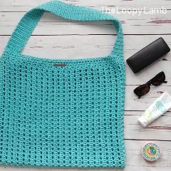 Shoreline Seeker Tote Free Crochet Pattern