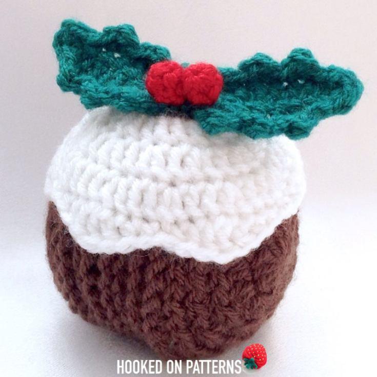 Christmas Crochet Idea:Christmas Pudding Coasters Crochet Pattern