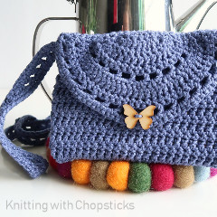 Eyelet Purse Free Crochet Pattern