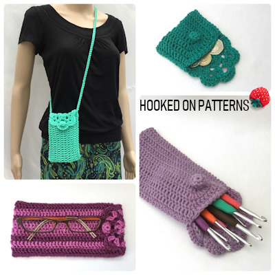 Floretta Bag Purse Case Crochet Pattern