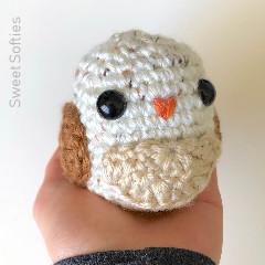 Owl Bean Free Crochet Pattern