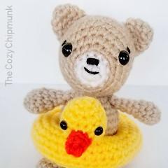 Teddy at the Beach Free Crochet Pattern