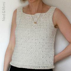 Free Women's Crochet Patterns: Twinkle Tank Free Crochet Pattern
