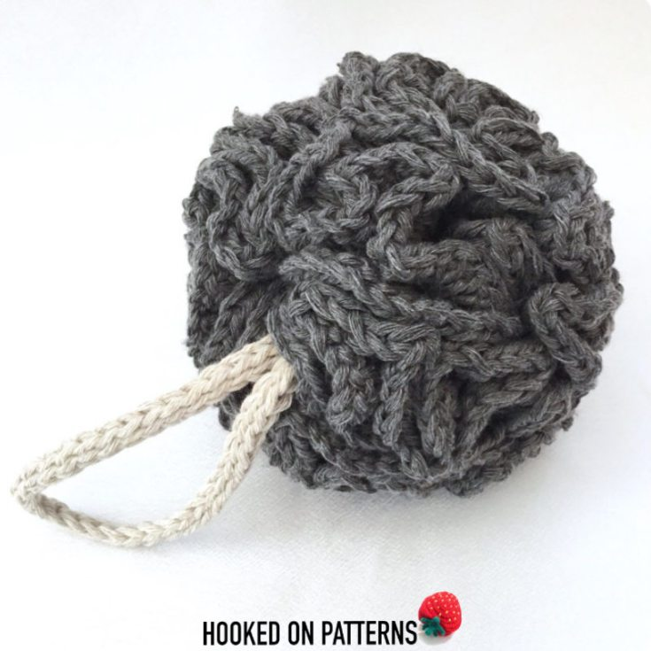 Free Crochet Shower Puff Pattern