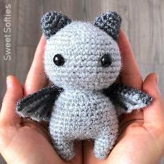 Sir Batwington Free Bat Crochet Pattern