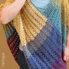 Athena Poncho Free Crochet Pattern