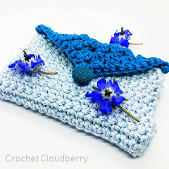 Card and Coin Purse Free Crochet Pattern
