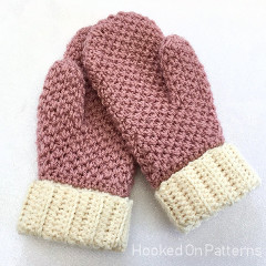 Cute and Cosy Mittens Free Crochet Pattern