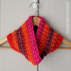 The Colourway Cowl Free Crochet Pattern