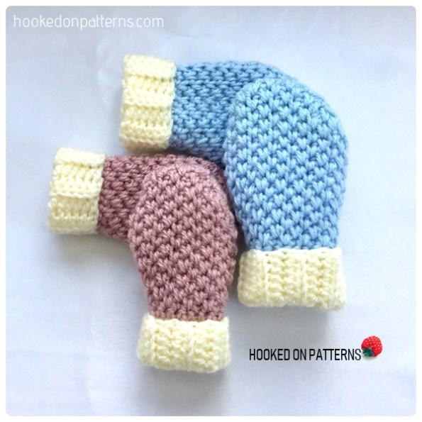 Free Crochet Baby Mittens Crochet Pattern