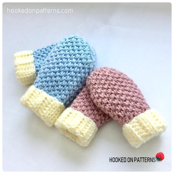 Free Baby Mittens Crochet Pattern