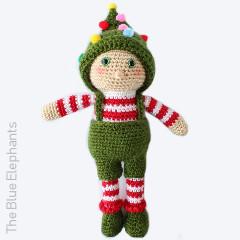 Ollie the Elf Free Crochet Pattern