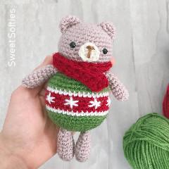 Ornament Bear Christmas Toy