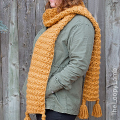 The Heather Super Scarf Free Crochet Pattern