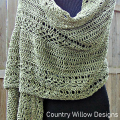 Milan Summer Wrap Free Crochet Pattern