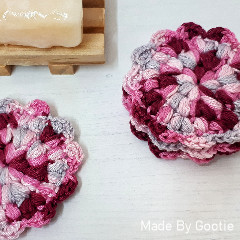 Flower Face Scrubbies Free Crochet Pattern