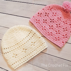 Vintage Vibes Beanie Free Crochet Pattern