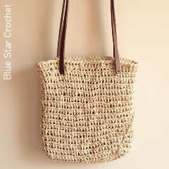 Raffia Bag Free Crochet Pattern