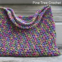 Rainbow Sprinkles Handbag Free Crochet Pattern