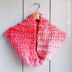 Bobble Row Cowl Free Crochet Pattern