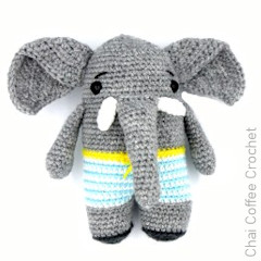Elzo the Elephant Free Crochet Pattern