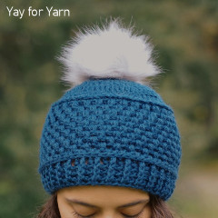 Puff Stitch Hat Free Crochet Pattern