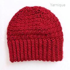 Sweet N Sour Beanie Free Crochet Pattern