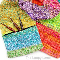 Tweedy Pocket Scarf Free Crochet Pattern