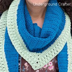 Autumn Nights Shawl Free Crochet Pattern