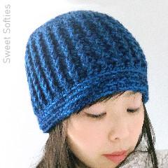 Briar Blue Beanie Free Crochet Pattern