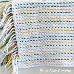 Meadowside Baby Blanket Free Crochet Pattern