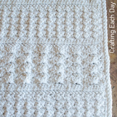 Cuddly Cloud Preemie Blanket Free Crochet Pattern