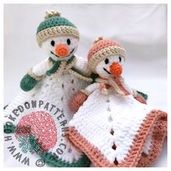 Free Snowman Lovey Crochet Pattern