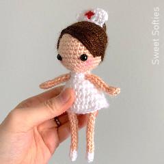 Nurse Pixie Free Crochet Pattern