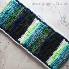 Sonic Waves Cowl Free Crochet Pattern