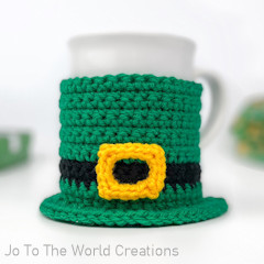St. Patrick's Day Mug Cozy Free Crochet Pattern