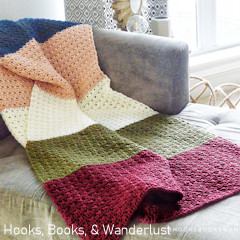 XOXO Throw Free Crochet Pattern