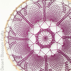 A thumbnail photo of the Stellar Mandalas free crochet pattern