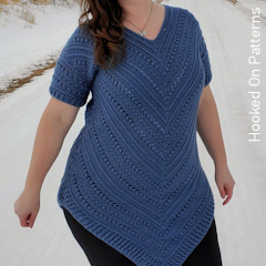 A thumbnail photo of the Bonnie Tunic free crochet pattern