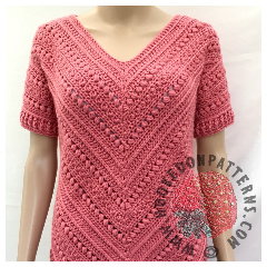 A thumbnail image of the Bonnie Tunic crochet pattern