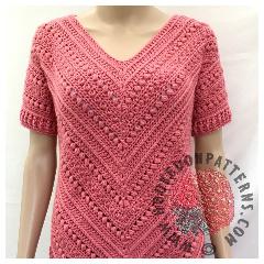 A thumbnail image of the Bonnie Tunic crochet pattern