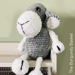 Thumbnail image of the Lonny the Lamb free crochet pattern