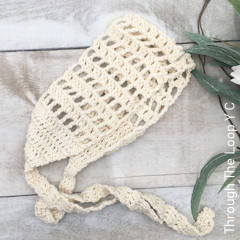 Thumbnail image of the Whimsy Head Wrap free crochet pattern