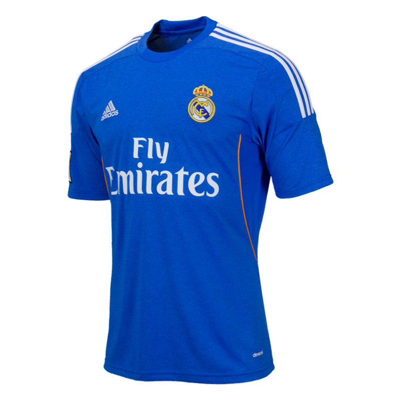 Real Madrid Away 13 14 Jersey – Hooked on Soccer 28c6dedf1