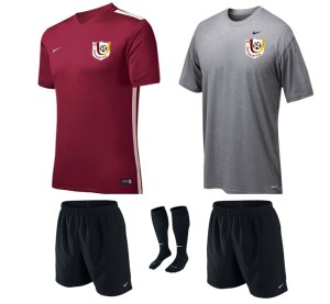 Nike uniform set