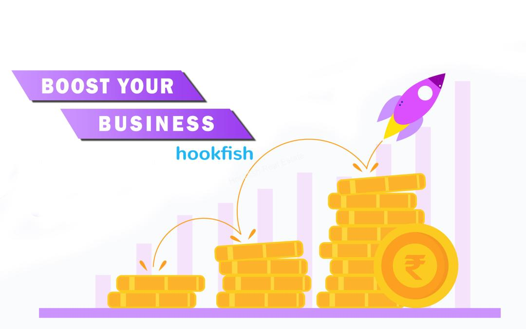 Boost your Real estate marketing with Hookfish