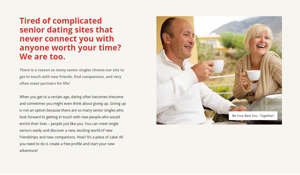 relationship internet websites just for aged people